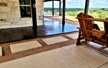 Patio With Classic _ Stain Leander Tx Test SUNDEK Austin
