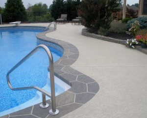 Bastrop, TX Pool Deck Resurfacing