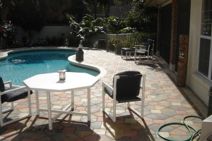 Pool Deck Concrete Acrylic