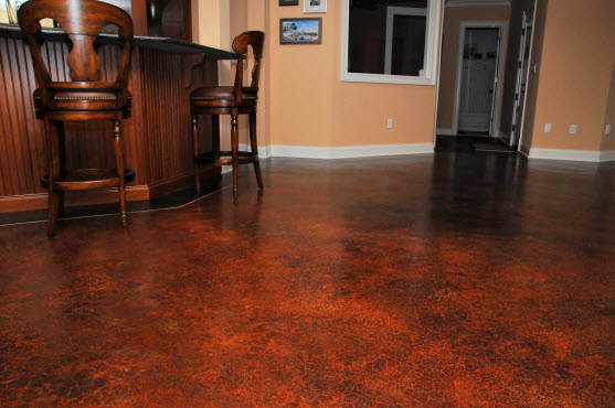 Concrete staining experts in lakeway tx 512 928 8000 for Indoor cement flooring