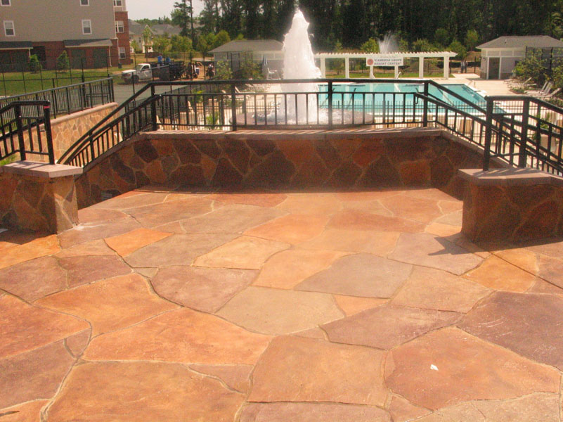 Concrete Patio by Sundek of Austin