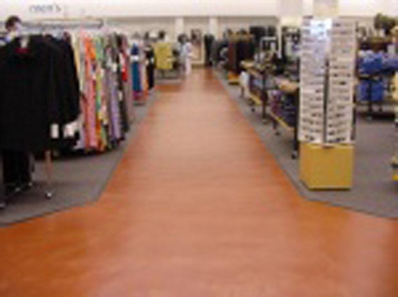 Department store interior