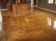 Interior Flooring Concrete Stain