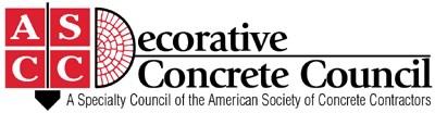 Decorative concrete counsil