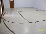 Garage Floor with Epoxy