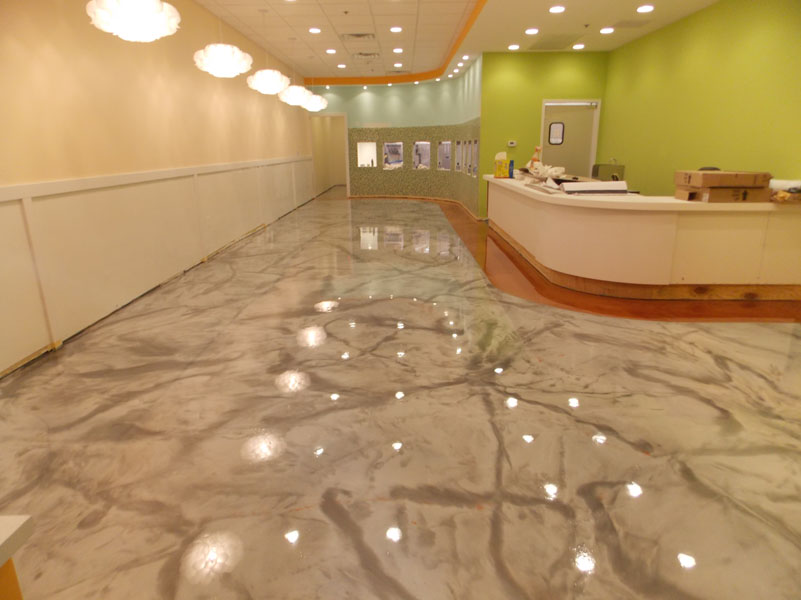 Interior floors sundek concrete coatings and concrete repair - Interior concrete floor resurfacing ...