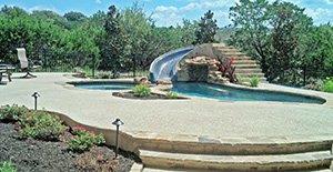 Austin pool deck