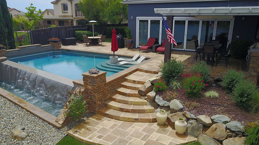 Refresh your concrete with a limestone coating